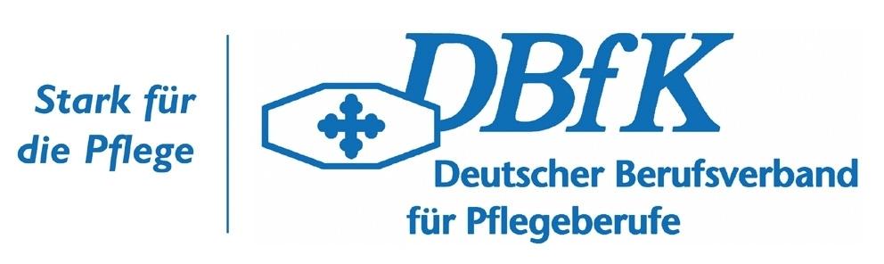 Logo DBfK - Stark fuer die Pflege