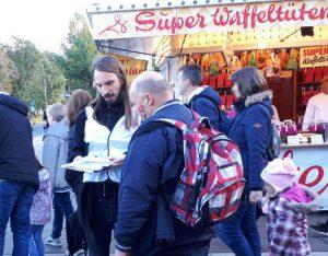 Foto Unterschriftensammlung Freimarkt Bremen